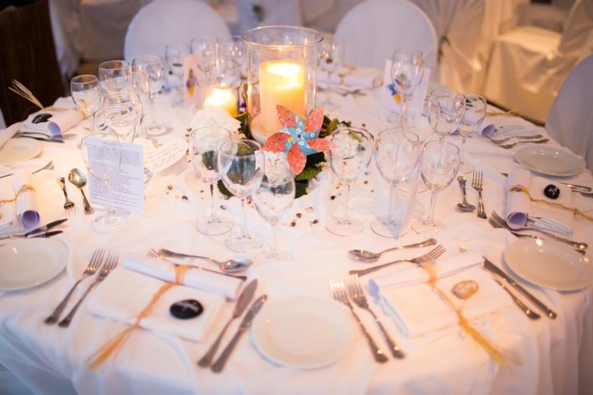 Wedding table layout