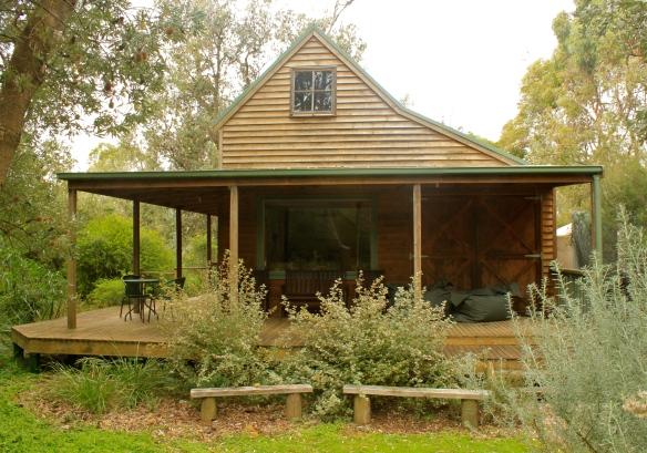 Wooden Cabin.