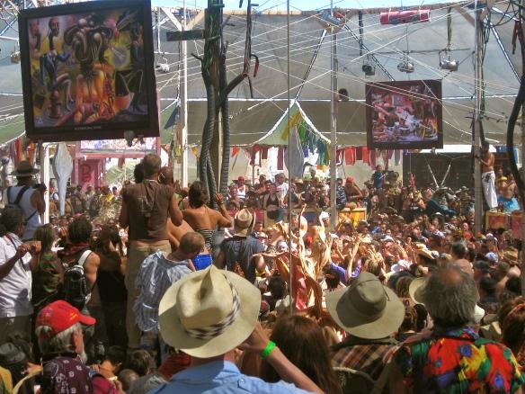 People at Burning Man.