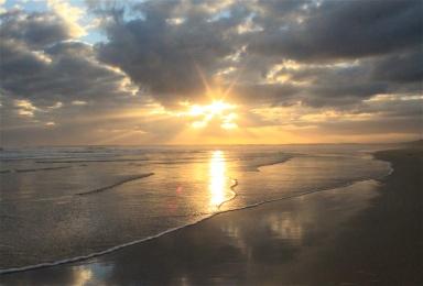 Venus beach sunset.