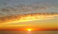 Sunset in Bakoven.
