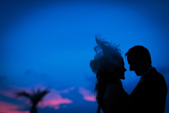 Wedding Silhouette.