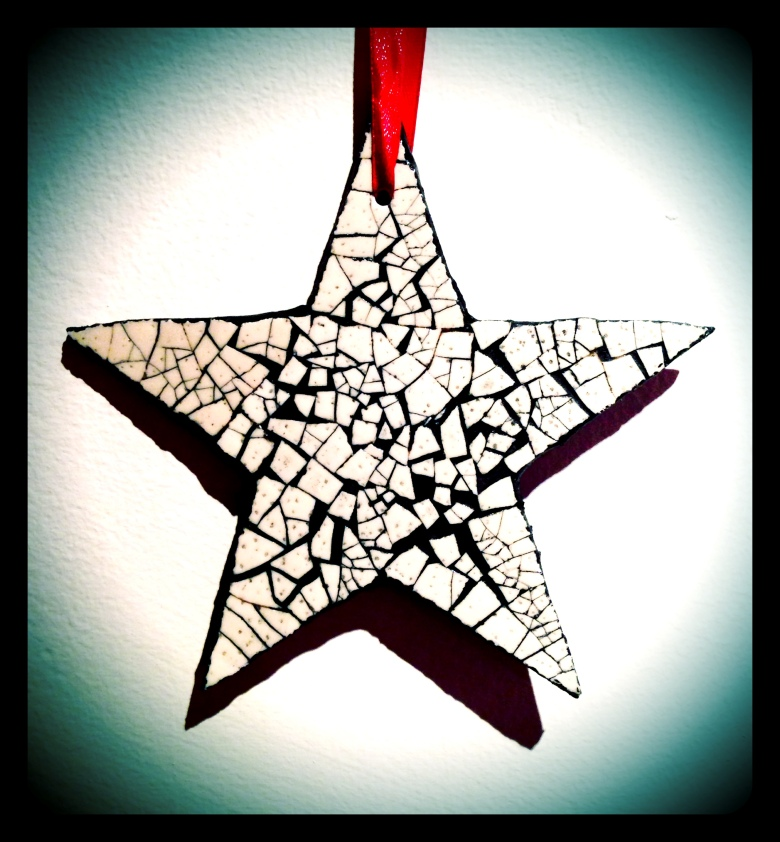 Christmas Star Ornament.